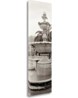 """Tangletown Fine Art 'Golden Gate Park Pano - 1' - Wrapped Canvas Photograph Print ICABSFV21-1339c Size: 39"""" H x 13"""" W"""