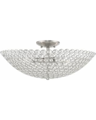 Livex Lighting Cassandra 4 Light Outdoor Flush Mount - 40447-91