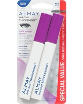 Almay Thickening Mascara Twin Pack 402 Black