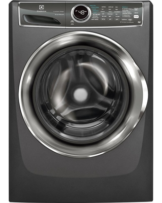 Electrolux 4.4 cu. ft. Front Load Washer with SmartBoost Technology Steam in Titanium, ENERGY STAR, Silver