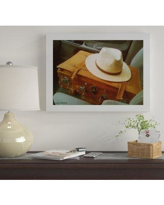 "Winston Porter 'The End Whtie Hat' Acrylic Painting Print on Wrapped Canvas WNST7009 Size: 18"" H x 24"" W x 2"" D"