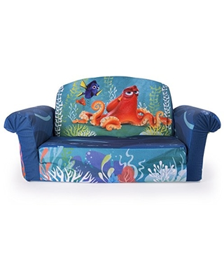 Miraculous Marshmallow Furniture Marshmallow Furniture Childrens 2 In 1 Flip Open Foam Sofa Disney Pixar Finding Dory By Spin Master From Amazon Alphanode Cool Chair Designs And Ideas Alphanodeonline