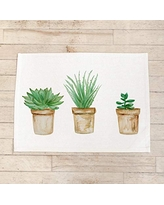 housewarming gift Succulent Box Watercolor tableware table setting dinner party Handmade in the USA home decor place setting home decor Napkin Set