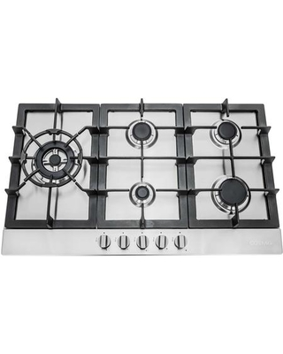 "850SLTX-E 30"" Gas Cooktop with 5 Sealed Burners Cast Iron Grates Electronic Ignition Flame Failure Safety Device and Easy-to-Clean Construction in"