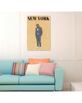"""Oliver Gal Hatcher & Ethan Esquire Gentleman Graphic Art on Wrapped Canvas 11221 Size: 24"""" H x 16"""" W"""