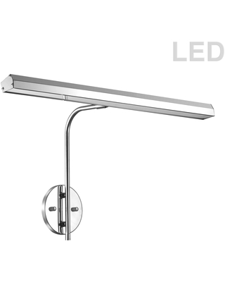 48W Picture Light Polished Chrome