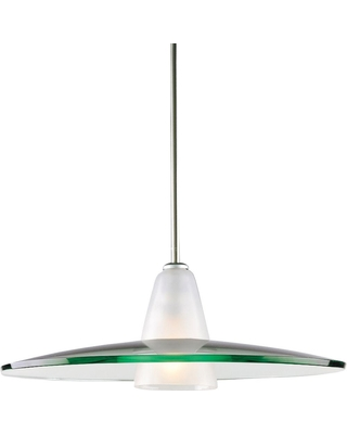 Progress Lighting 1-Light Brushed Nickel Pendant