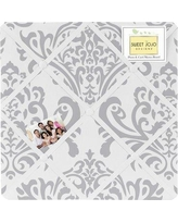 Sweet Jojo Designs Avery and Elizabeths Memo Board Memo-Damask-GY-WH