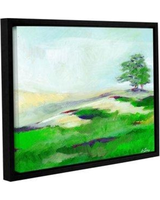 """Alcott Hill Fog Mountains Framed Painting Print ACOT2522 Size: 24"""" H x 32"""" W x 2"""" D"""