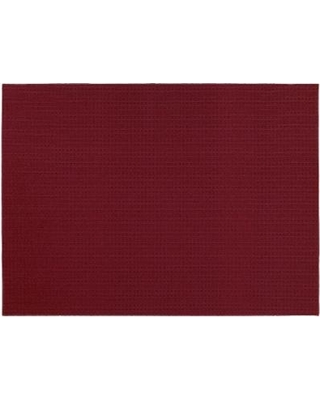 Garland Rug Herald Square Solid Rug, Red