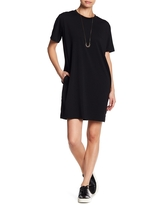 COTTON EMPORIUM Crew Neck T-Shirt Dress, Size X-Small in Black at Nordstrom Rack
