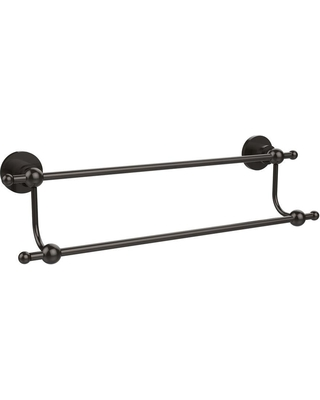 Allied Brass Astor Place Collection 30 in. Double Towel Bar in Oil Rubbed Bronze