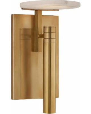 Visual Comfort and Co. Kelly Wearstler Melange 10 Inch LED Wall Sconce - KW 2610AB-ALB