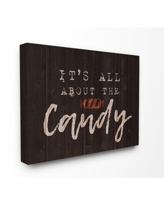 The Stupell Home Decor Collection Its All About the Candy Stretched Canvas Wall Art, 16 x 1.5 x 20
