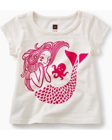 Tea Collection Mermaid Graphic Baby Tee