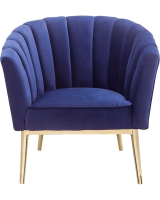 Acme Furniture Colla Blue Accent Chair
