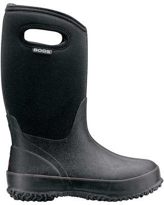 Bogs Youth Classic Solid Boot - 5 - Black F18