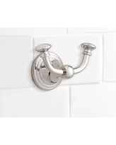 Mercer Double Wall Hook, Polished Nickel finish