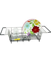 """Better Houseware Over Sink Dish Drainer, 19.25 x 8.25 x 4.5""""H, Stainless Steel"""