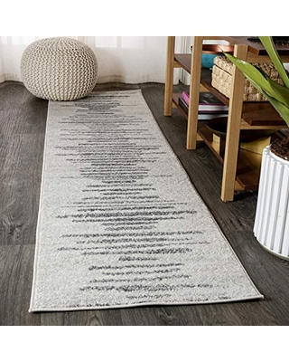 Big Deal On Jonathan Y Aya Berber Stripe Geometric Bohemian Easy Cleaning For Bedroom Kitchen Living Room Non Shedding Area Rugs 2 X 8 Cream Gray