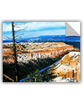 """ArtWall Mountain Tops Sky' by Gene Foust Removable Wall Decal JJM8518 Size: 18"""" H x 24"""" W x 0.1"""" D"""