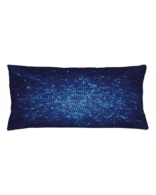 "Indoor / Outdoor Geometric Lumbar Pillow Cover East Urban Home Size: 16"" x 36"""
