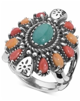 American West Multi-Gemstone Statement Ring (3-1/2 ct. t.w.) in Sterling Silver - Silver