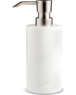 Marble Soap/Lotion Dispenser White - Project 62