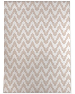 Warroad Twine Pink/White Area Rug Wrought Studio™ Rug Size: Rectangle 4' x 6'