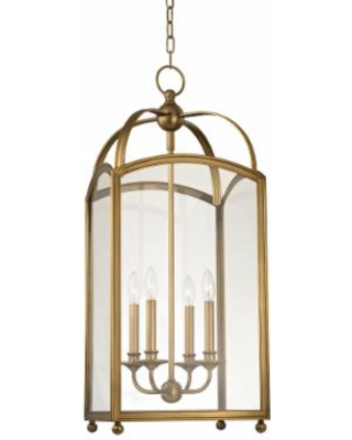 Hudson Valley Lighting Millbrook 14 Inch Cage Pendant - 8414-AGB