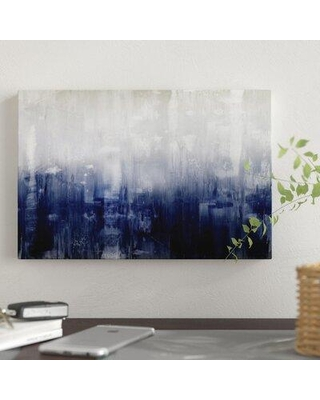 """East Urban Home 'Textural' Graphic Art Print on Canvas FCIW2043 Size: 12"""" H x 18"""" W x 0.75"""" D"""