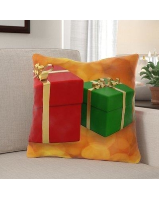 The Holiday Aisle Geiser Thank You Indoor/Outdoor Throw Pillow W000459661