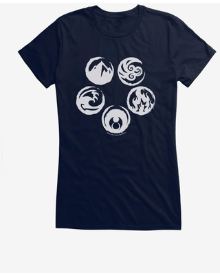 Legend Of The Five Rings Five Rings Girls T-Shirt