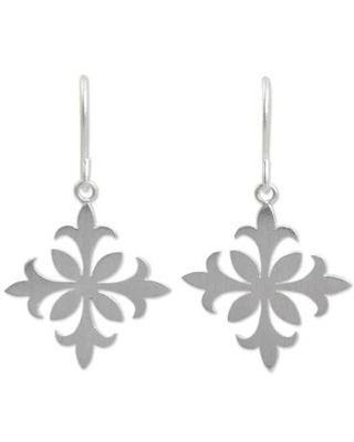 Earrings Crafted by Hand with Sterling Silver