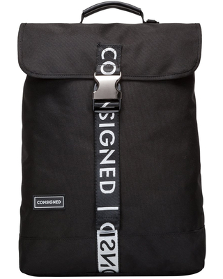 Consigned - Vance XS Backpack Black-White