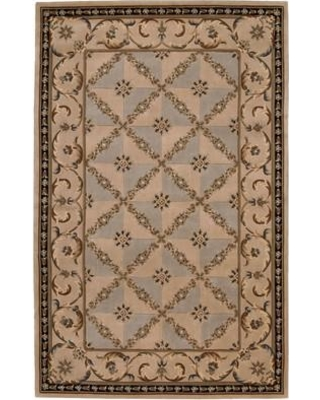 "Astoria Grand Odette Hand-Tufted Wool Brown Area Rug ARGD1781 Rug Size: Rectangle 5'3"" x 8'3"""