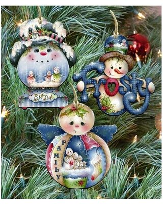 3 Piece Holiday Shaped Ornament Set The Holiday Aisle®