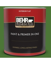 Huge Deal On Behr Premium Plus 1 Qt P380 7 Luck Of The Irish Satin Enamel Exterior Paint And Primer In One