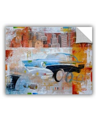 """ArtWall 56' by Greg Simanson Graphic Art Removable Wall Decal JJM8386 Size: 36"""" H x 48"""" W x 0.1"""" D"""