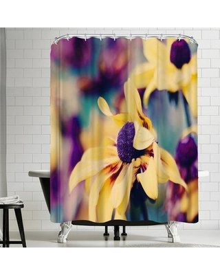 Find The Best Deals On East Urban Home Mellow Yellow Single Shower Curtain Fsoj1841