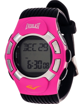 Everlast Finger Touch Heart Rate Monitor Watch Pink, Women's, Size: Small