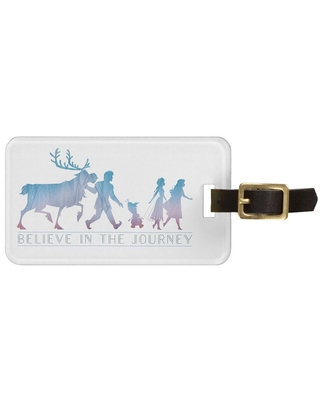 Anna, Elsa & Friends ''Believe in the Journey'' Bag Tag Frozen 2 Customizable Official shopDisney