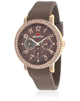Seapro Women's SP4414 Swell Brown Stainless Steel Case with Silicone Strap Watch