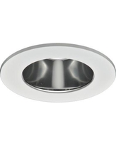 """Halo Specular Clear Reflector, Diffuse Polymer Lens 4"""" LED Recessed Trim TL410SC"""