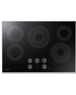 """Samsung 30"""" Electric Cooktop NZ30K6330R Color: Stainless Steel"""