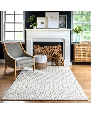 New Sales Are Here 20 Off Nuloom Diamond Hubbard Area Rug 7 6 X 9 6