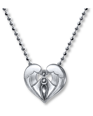 d633b81e6 Amazing Deal on Alex Woo Angel Necklace Sterling Silver