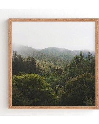 "East Urban Home 'Northern California Redwood Forest' Photographic Print EUBM5276 Size: 12"" H x 12"" W Format: Satin Framed"