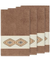Millwood Pines Embassy Embellished Turkish Cotton Bath Towel BF110031 Color: Latte