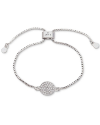 Dkny Pave Disc Slider Bracelet, Created for Macy's
